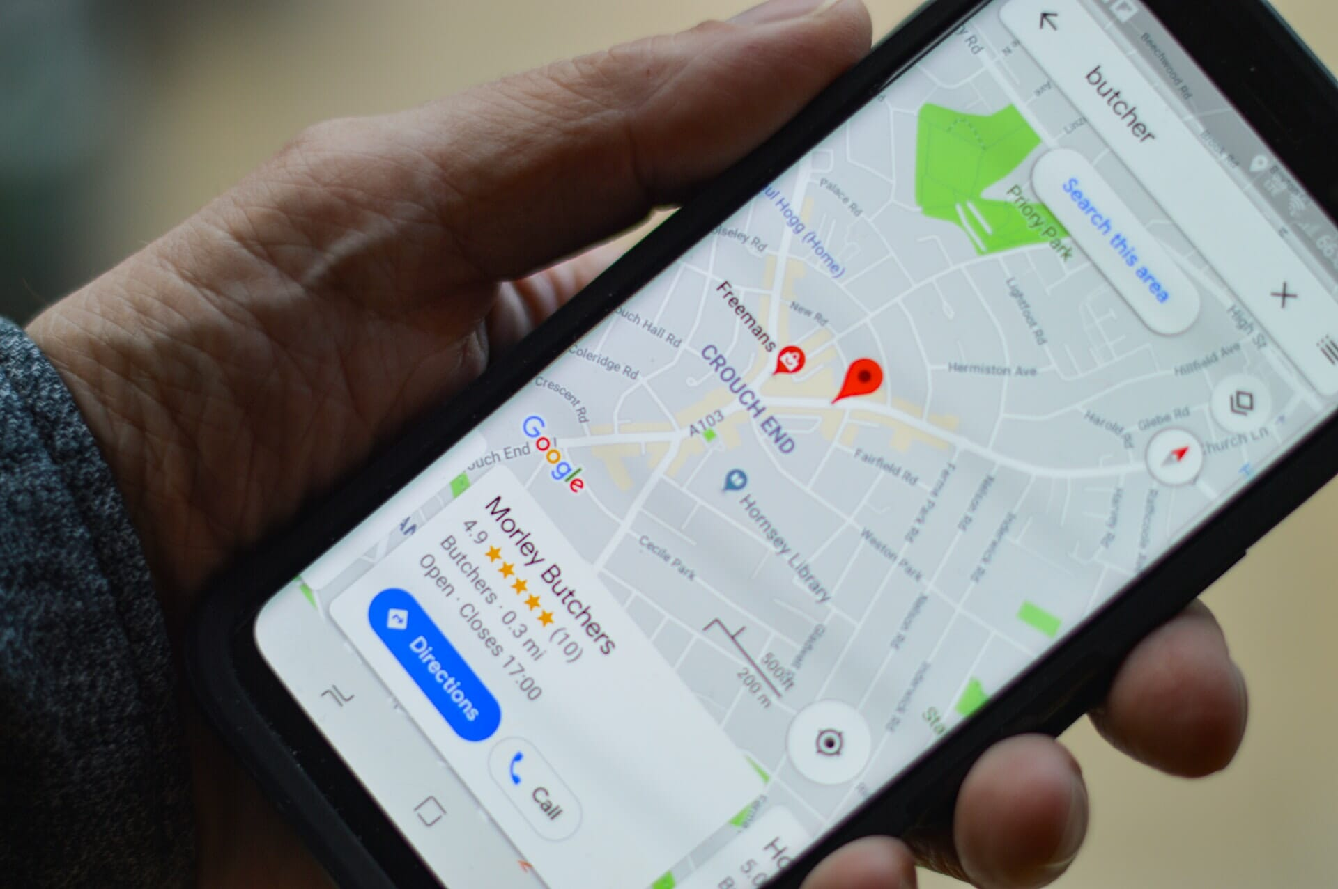 Local SEO gets you found in the Google Maps 3-Pack